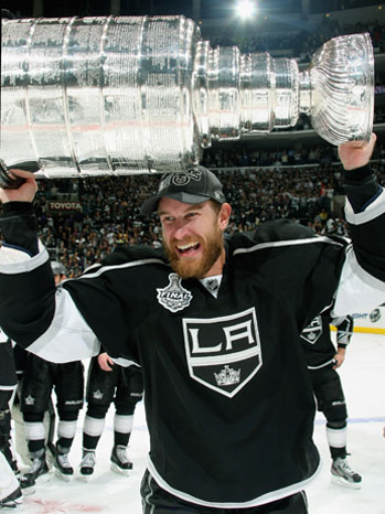 Los Angeles Kings Win Stanley Cup - Jeff Carter - P 2012
