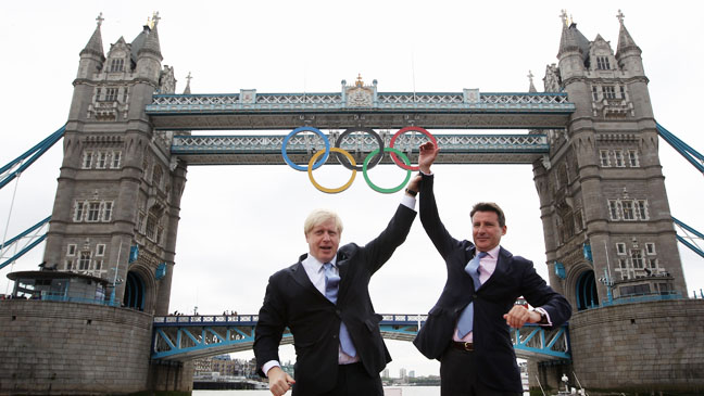 Olympic Rings Tower Bridge - H 2012