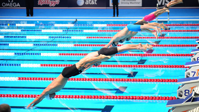 Olympic Trials Swimming - H 2012