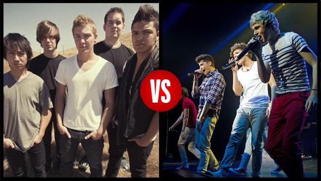One Direction U.S. vs. One Direction U.K. Same Name Lawsuit - H 2012