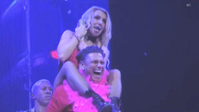 Pauly D Britney Spears Lap Dance - H 2012