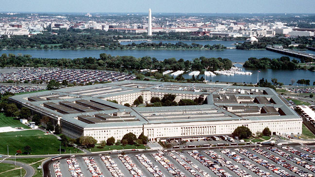 The Pentagon Arial View - H 2012