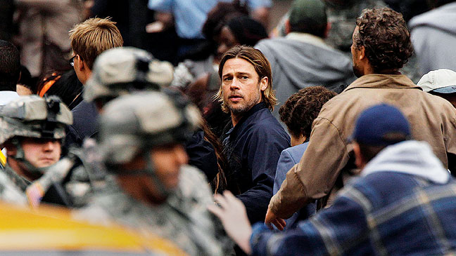 2012-22 REP Brad Pitt World War Z H