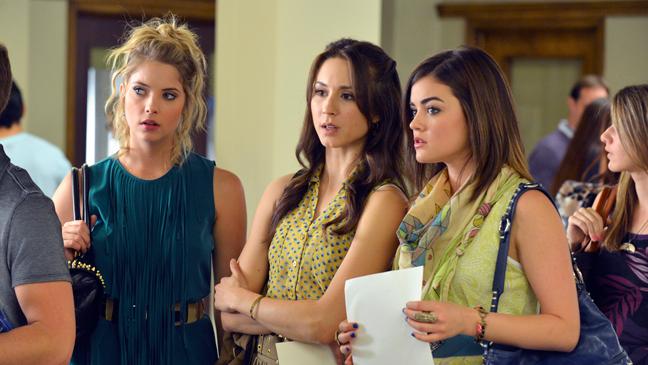 Pretty Little Liars season 3 premiere - H