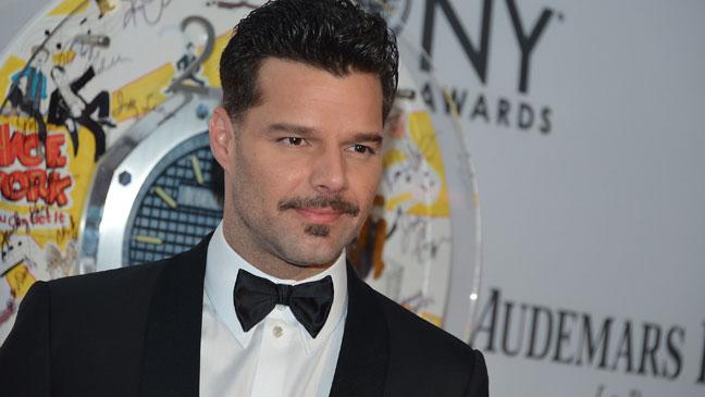 Ricky Martin Tonys H 2012