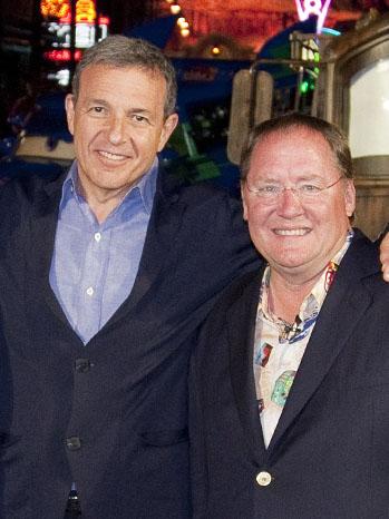 Robert Iger John Lasseter Cars Land Opening - P 2012