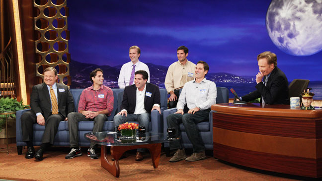 TBS Conan O'Brien guests Mitt Romney Sons - H 2012