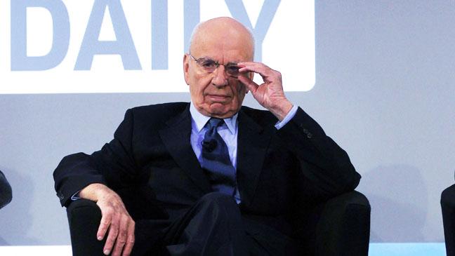 Rupert Murdoch on stage - H 2012