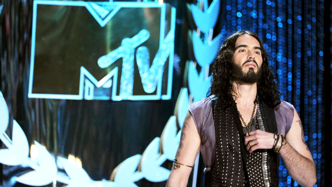 MTV Movie Awards Russell Brand - H 2012
