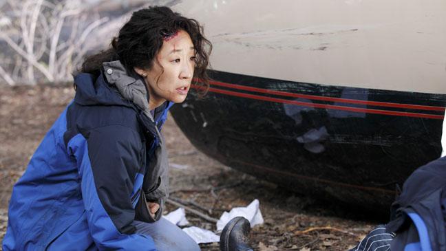 Sandra Oh Grey's Anatomy Flight - H 2012
