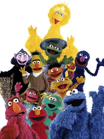 Sesame Street Cast - P 2012