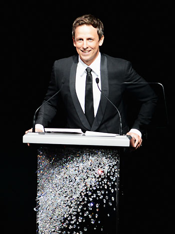 Seth Meyers CFDA Awards - P 2012