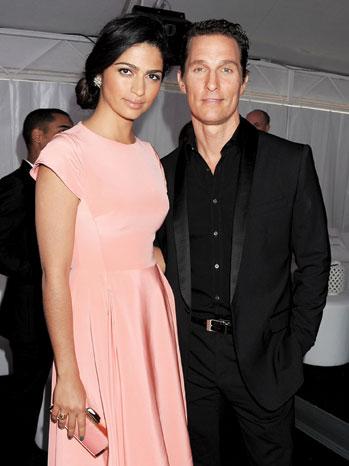 2012-20 TOWN HHH Matthew McConaughey Camila Alves P