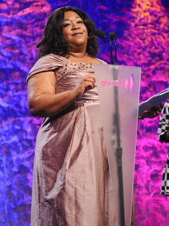 Shonda Rhimes GLAAD Awards P 2012