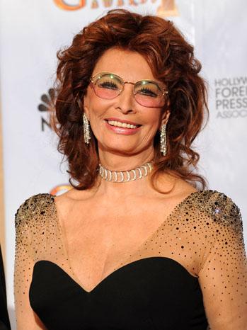Sophia Loren Golden Globes - P 2012