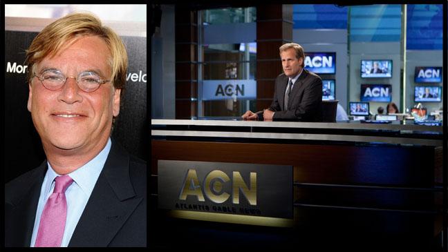 Aaron Sorkin Newsroom - H 2012