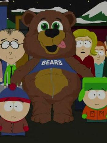 South Park Muhammed Bear Suit - P 2012