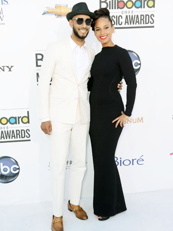 Billboard Music Awards Swizz Beatz Alicia Keys - P 2012