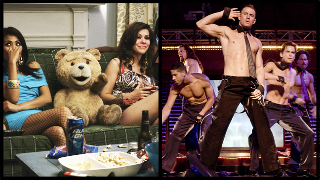 Ted Magic Mike - H 2012