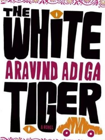 The White Tiger Book Cover - P 2012