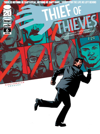 Thief of Thieves 6 Cover - P 2012