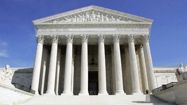 US Supreme Court Building - H 2012