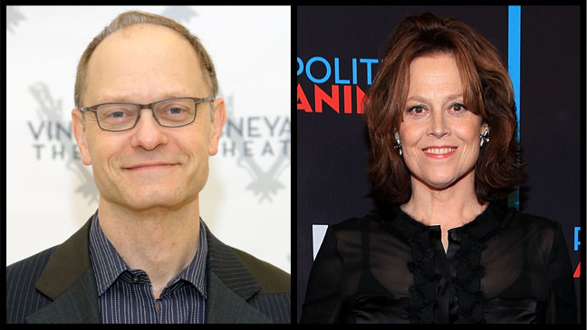 Sigourney Weaver David Hyde Pierce Split - H 2012