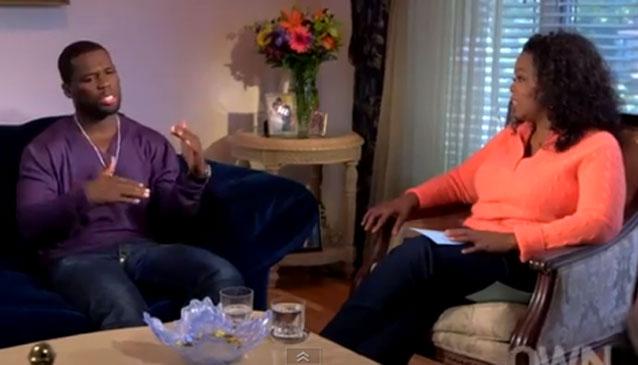 Oprah Winfrey Interviews 50 Cent Screengrab - H 2012