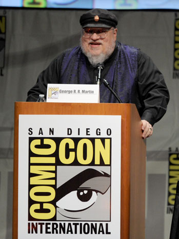 George R. R. Martin Game of Thrones Comic-Con - P 2012