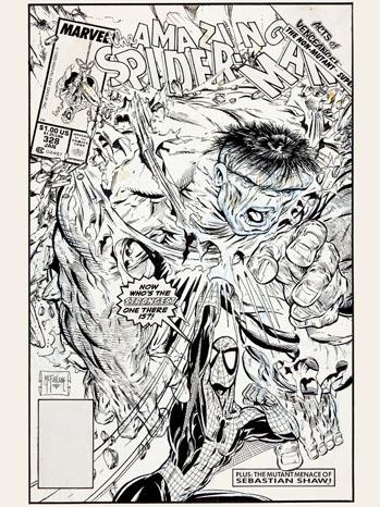 Amazing Spider-Man Graphic Art - P 2012