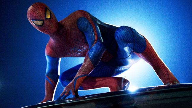 Amazing Spiderman Andrew Garfield as Spiderman - H 2012