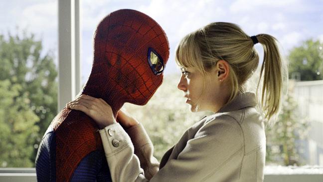 Amazing Spiderman Emma Stone Andrew Garfield - H 2012