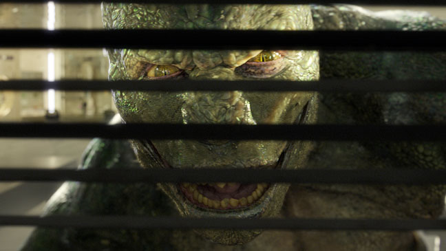 Amazing Spiderman The lizard - H 2012