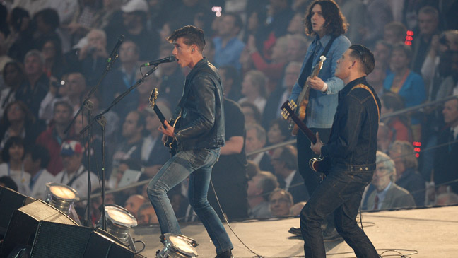 Arctic Monkeys Perform at Olympics - H 2011