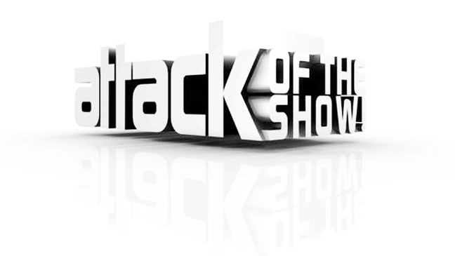 Attack of the Show Logo - H 2012