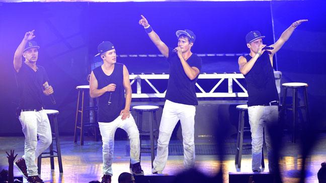 BTR Image Concert Photo - H 2012