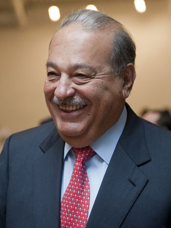 Carlos Slim Mexican Tycoon - P 2012