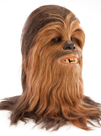 Original Chewbacca Head from 'Star Wars'