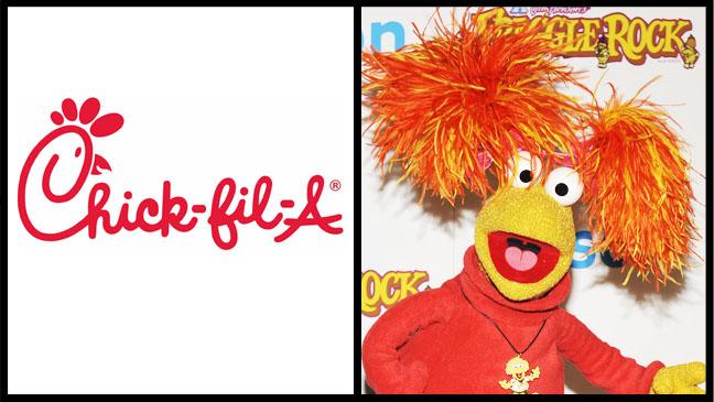 Chick-Fil-A Fraggle Split - H 2012