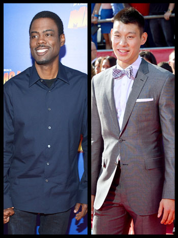 Chris Rock Jeremy Lin Split - P 2012
