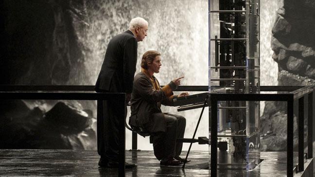 Dark Knight Rises Alfred with Bruce Wayne Still - H 2012