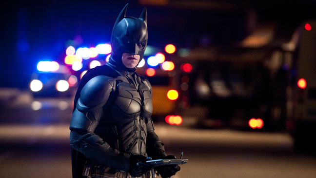 Dark Knight Rises Batman at Night Still - H 2012