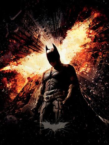 Dark Knight Rises Key Art - P 2012