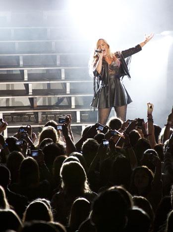 Demi Lovato Greek Theatre Color - P 2012