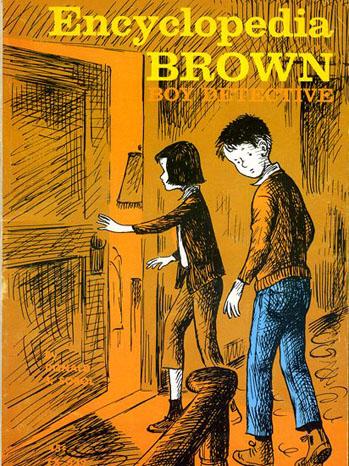 Encyclopedia Brown: Boy Detective Cover - P 2012