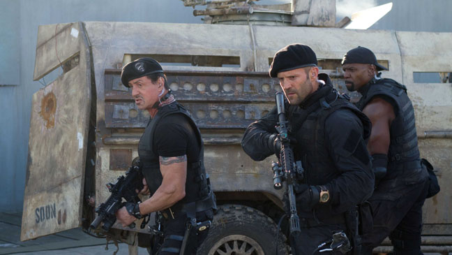 Expendables 2 Stallone Statham Crews - H 2012