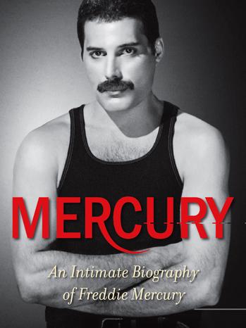 Freddie Mercury intimate biography cover P