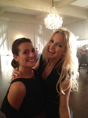 Glee Exclusive Lea Michelle Kate Hudson - P 2012