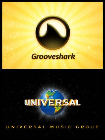 Grooveshark Universal Music Group Logo - P 2012