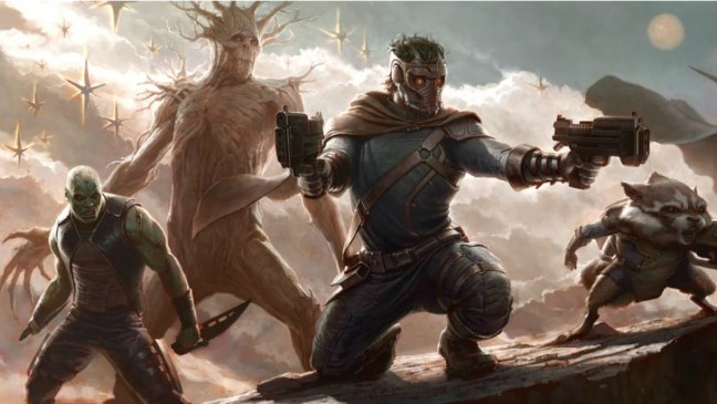 Guardians of the Galaxy Concept Art - 2012 H